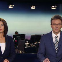 Sofija Preljvukić s inžinjerom i voditeljem radova sanacije Karepovac o sanaciji odlagališta (Video: Dnevnik Nove TV)