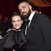 Millie Bobby Brown i Drake (Foto: Instagram)