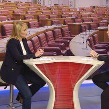 Bruna Esih, zastupnica stranke Neovisni za Hrvatsku, i Sabina Tandara Knezović (Foto: Dnevnik.hr)