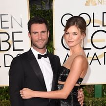 Adam Levine i Behati Prinsloo (Foto: Getty)