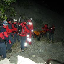 Akcija spašavanja 3 (Foto: HGSS Makarska)