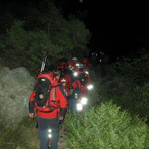 Akcija spašavanja 4 (Foto: HGSS Makarska)