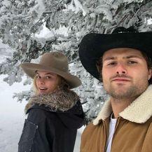Nina Agdal i Jack Brinkley (Foto: Instagram)