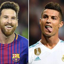 Messi i Ronaldo (Foto: AFP)