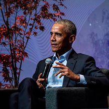 Barack Obama 2 (Foto: Alexander Eriksson / Oslo Business Forum)