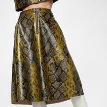 Suknja brenda Zara, 299 kn