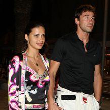 Marko Jarić i Adriana Lima (Foto: Goran Jakus/PIXSELL)