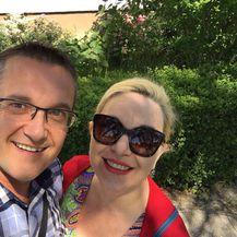 Goran i Ivona Beus Richembergh (FOTO: Facebook)