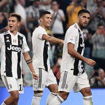 Mario Mandzukić, Paulo Dybala, Cristiano Ronaldo i Emre Can (Foto: AFP)