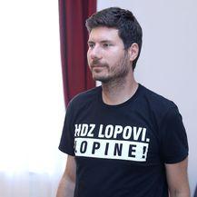 Ivan Pernar na sjednici Mandatno-imunitetnog povjerenstva (Foto: Patrik Macek/PIXSELL)
