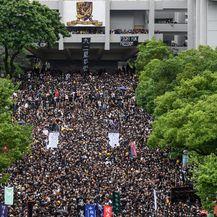 Prosvjed u Hong Kongu (Foto: AFP) - 1