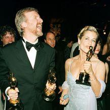 Linda Hamilton i James Cameron (Foto: AFP)