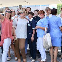 Prosvjed u splitskoj bolnici (Foto: Ivo Čagalj/Pixsell) - 2