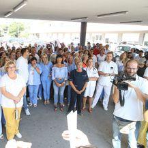 Prosvjed u splitskoj bolnici (Foto: Ivo Čagalj/Pixsell) - 4