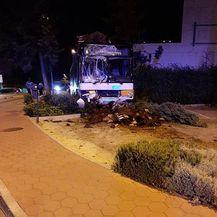 Autobus je razbijen (Foto: Dubrovniknet.hr) - 3