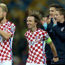 Ivan Rakitić i Luka Modrić (Foto: Igor Kralj/PIXSELL)