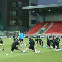 Trening Vatrenih na stadionu Anton Malatinsky (Foto: Davor Javorović/PIXSELL)