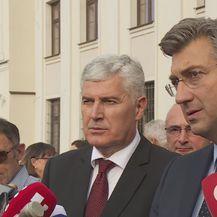 Dragan Čović i Andrej Plenković (Foto: Dnevnik.hr)