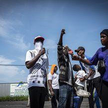 Migrantski kampovi na meksičko-američkoj granici (Foto: DPA/PIXSELL) - 12
