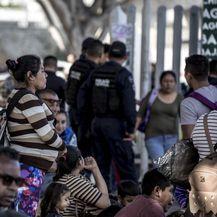 Migrantski kampovi na meksičko-američkoj granici (Foto: DPA/PIXSELL) - 13