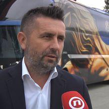 Nenad Bjelica za Dnevnik Nove TV (Foto: GOL.hr)