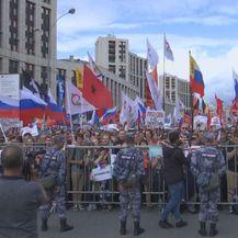Prosvjed u Rusiji (Foto: Dnevnik.hr)