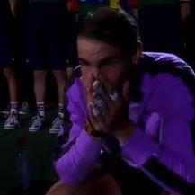 Rafa Nadal plače (Screenshot)