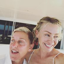 Ellen DeGeneres i Portia de Rossi (Foto: Instagram)