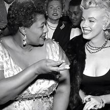 Ella Fitzgerald i Marilyn Monroe (Foto: Screenshot Youtube)