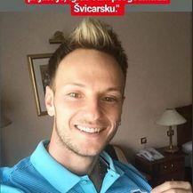 Rakitićeva objava na storyju (Instagram)