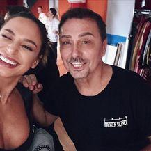 Dragan Kojić Keba i Edita Aradinović (Foto: Instagram)
