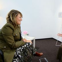 Tanya Golešić i Sanja Vištica (Foto: Dnevnik.hr)