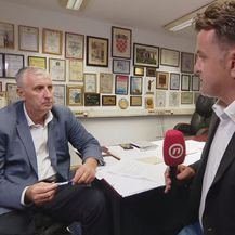 Miodrag Demo, pročelnik zagrebačkog Gradskog ureda za branitelje, i Andrija Jarak (Foto: Dnevnik.hr)