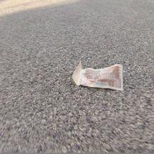Novac na cesti (Foto: Dnevnik.hr)