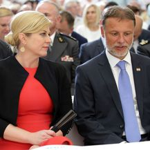 Kolinda Grabar-Kitarović i Gordan Jandroković (Foto: Dusko Jaramaz/PIXSELL)