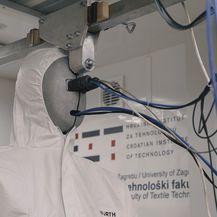 Termalni maneken mjeri toplinska izolacijska svojstva odjevnih predmeta