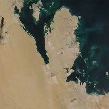 Satelitska snimka napada (Foto: AFP)