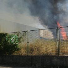 Požar u Splitu (Foto: Dalmacija Danas)