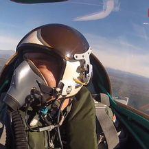 Pogled iz aviona (Foto: Dnevnik.hr)