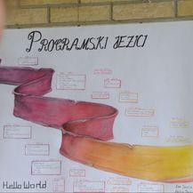 Plakat na zidu radionice (Foto: Dnevnik.hr)
