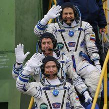 Kozmonauti i američki astronaut (Foto: Arhiva/AFP)