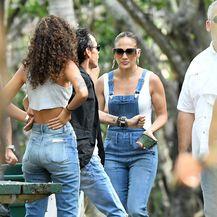 Jennifer Lopez, Marc Anthony i Raffaella Modugno (Foto: Profimedia)