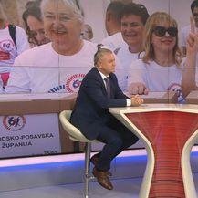 Ministar gospodarstva Darko Horvat i Sabina Tandara Knezović (Foto: Dnevnik.hr)