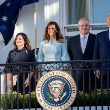 Donald Trump, Scott Morrison i Prve dame (Foto: AFP)
