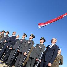 Damir Krstičević na Kninskoj tvrđavi (Foto: MORH)