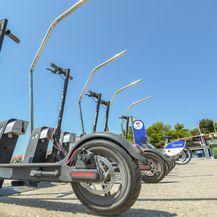 Električni romobil, ilustracija (Foto: Dino Stanin/PIXSELL)