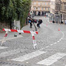 Blokiran promet u središtu Zagreba (Foto: Goran Stanzl/PIXSELL)