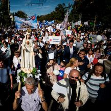 Marš protiv pobačaja u Bratislavi (Foto: AFP) - 3