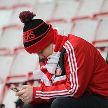 Navijač Sunderlanda (Foto: Richard Sellers/Press Association/PIXSELL)