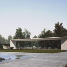 Projekcija spomenika (Foto: Dnevnik.hr)